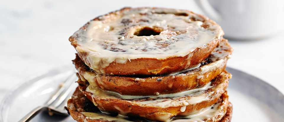 French Toast Bagel Recipe