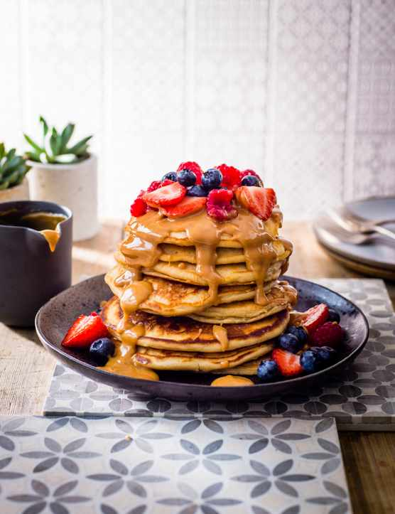 Peanut Butter Pancakes Recipe