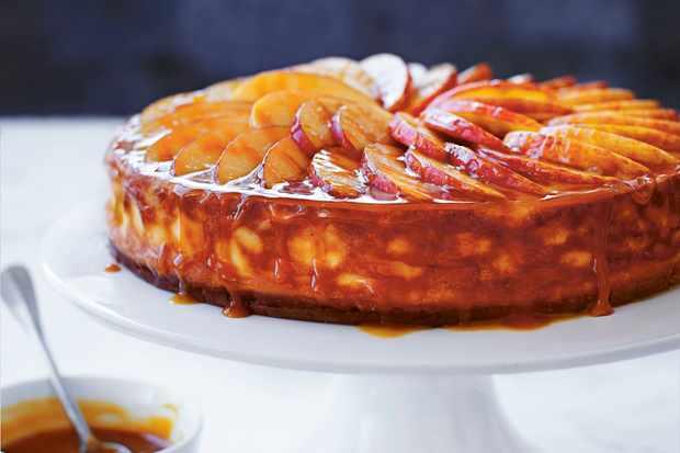 Toffee Apple Cheesecake recipe