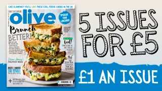 olive magazine September subscription deal