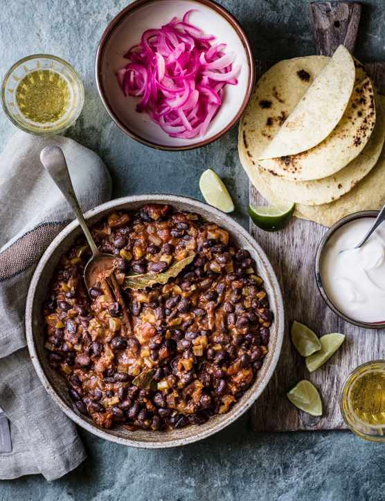 Chipotle Black Bean Chilli Recipe
