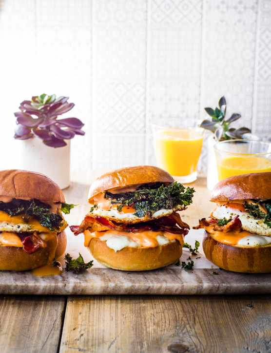 Breakfast Bap Recipe