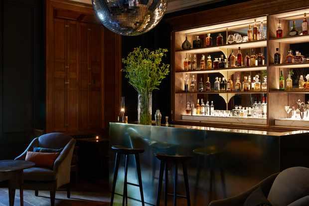 The opulent moon bar
