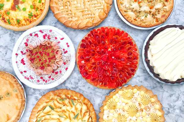 A selection of sweet and savoury pies from Dominique Ansel