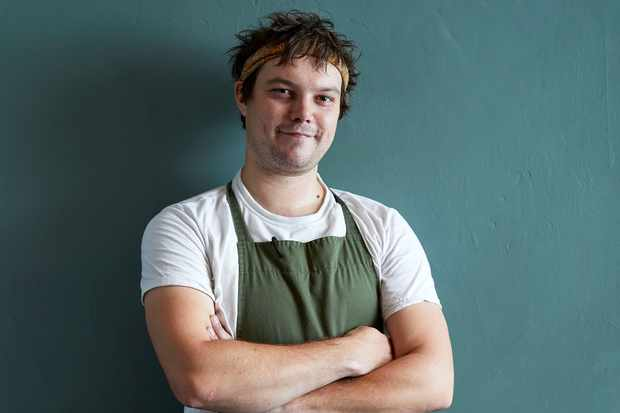 Chef Chris Boustead at Linden Stores, Islington