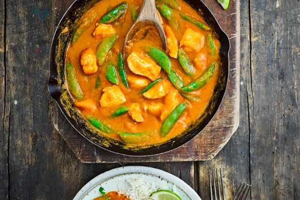 Light Chicken Curry Recipe
