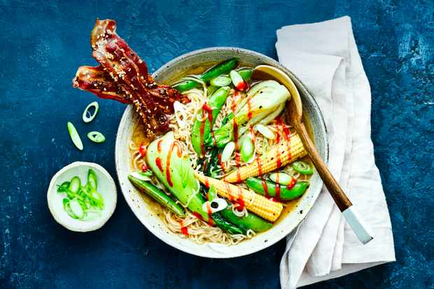 Bacon Ramen Noodles Recipe