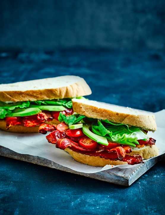 Bacon, Lettuce and Tomato Sandwich Recipe