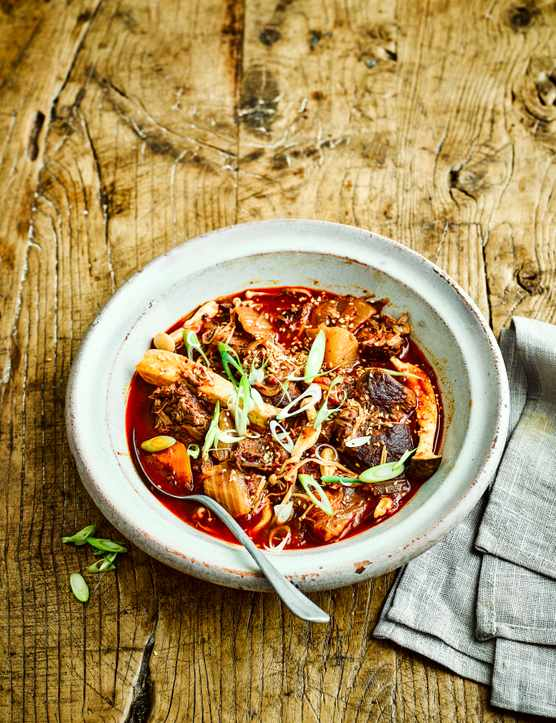 Kimchi Jjigae Soup with Beef