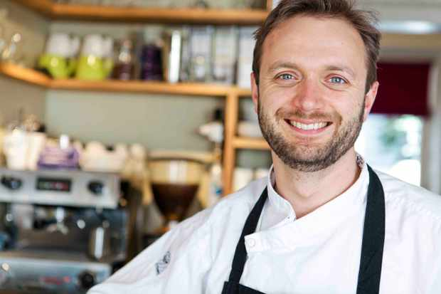 Richard Buckley olive chef awards winner