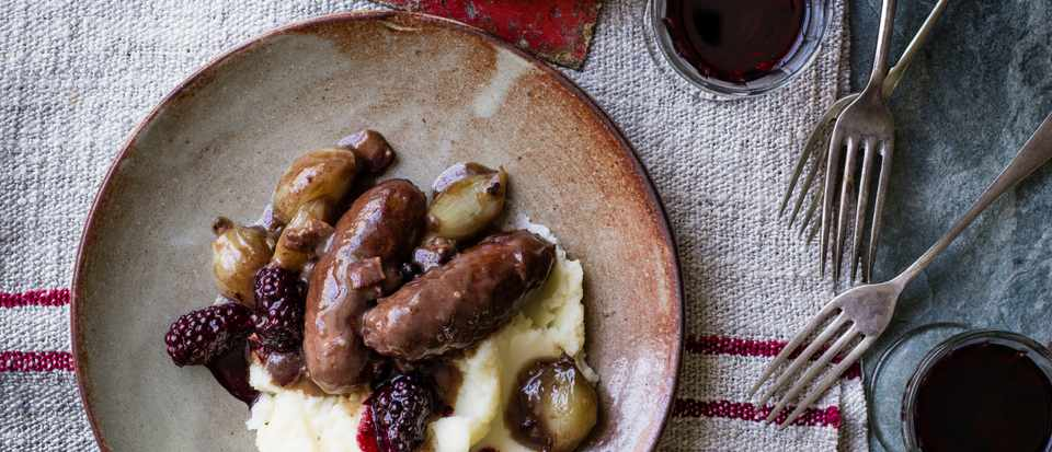 Sausages with Juniper and Bay Recipe