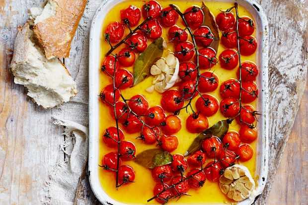 Roasted Cherry Tomatoes Recipe