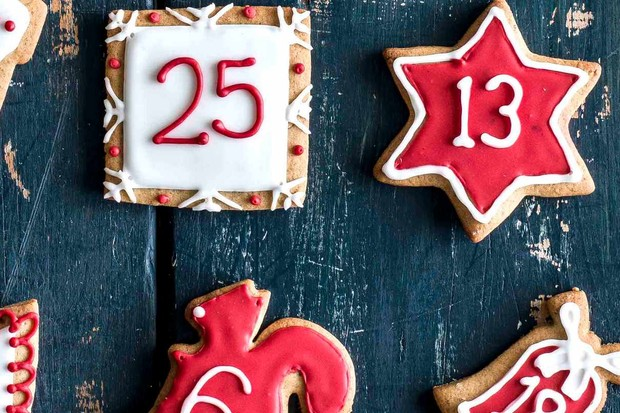 Christmas Advent Biscuits