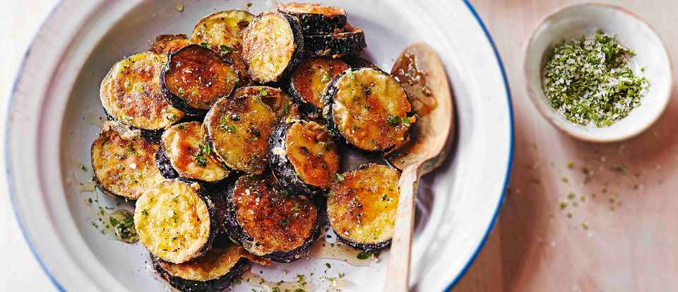 Fried Aubergine Recipes and How to Fry Aubergine