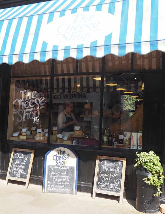 Cheese shop, Chester