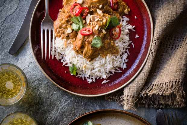African Peanut Stew with Chicken