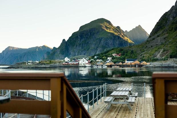 Kitchen On The Edge Of The World, Lofoten Islands, Norway