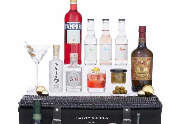 Harvey Nichols Hamper - gindulgence - £170