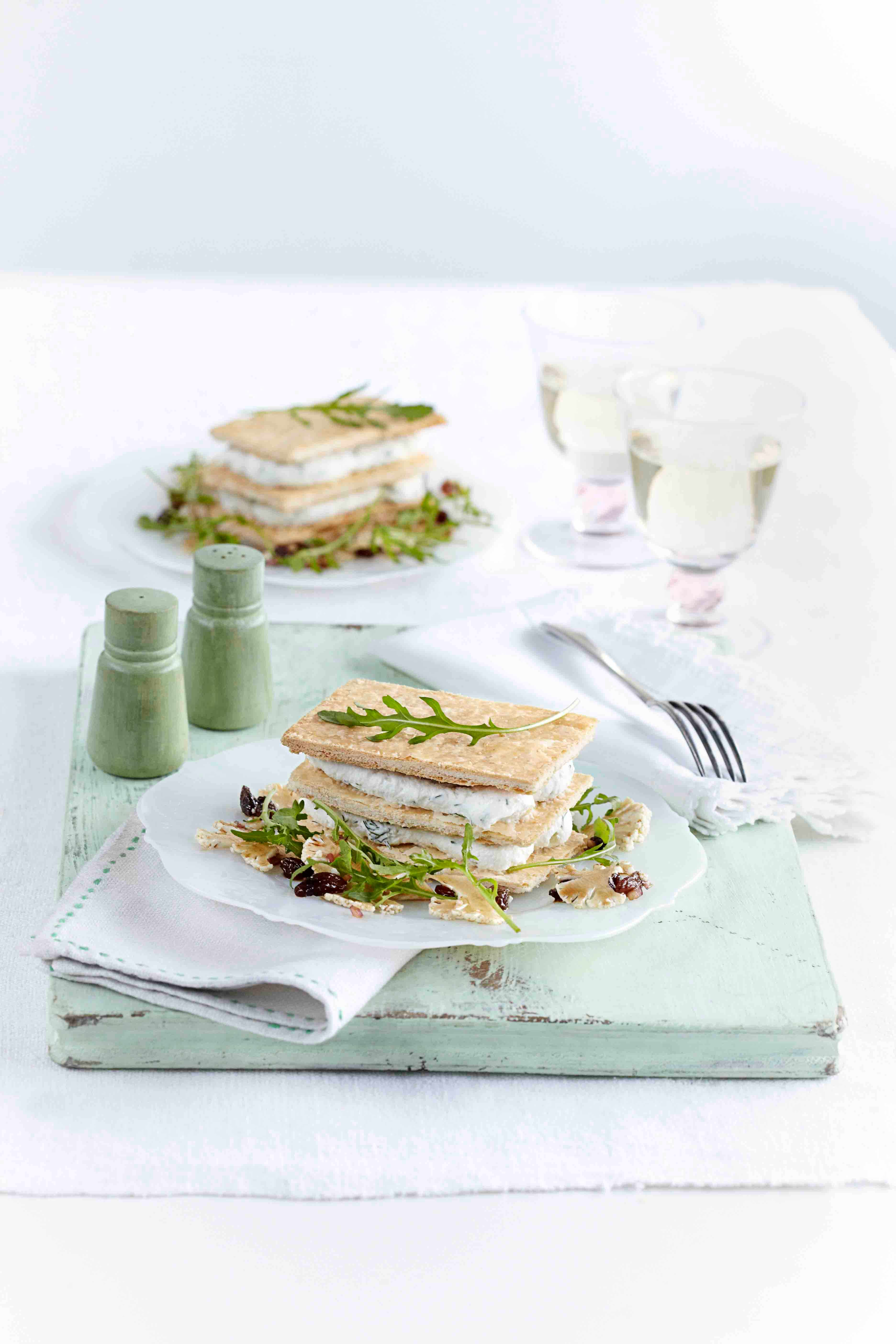 Savoury Mille Feuille Recipe