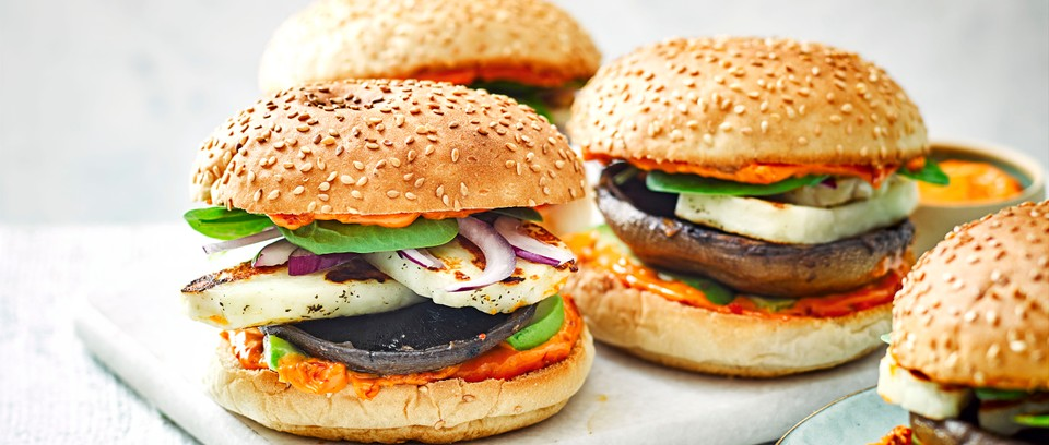 18 Best Veggie Burger Recipes Olivemagazine