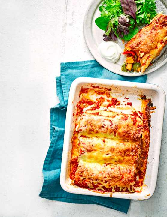 Sweet Potato Enchiladas Recipe
