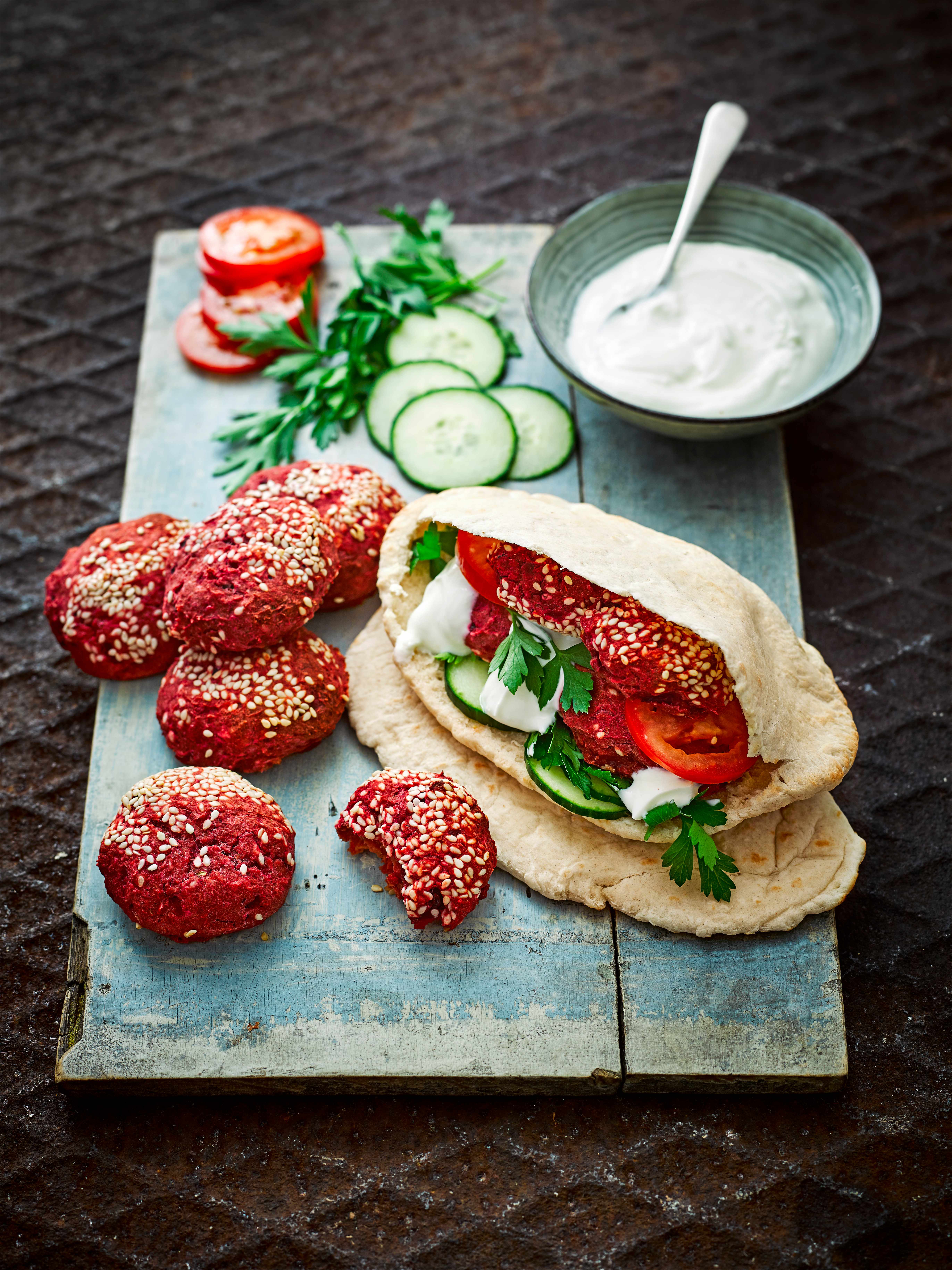 Beetroot Falafel Recipe