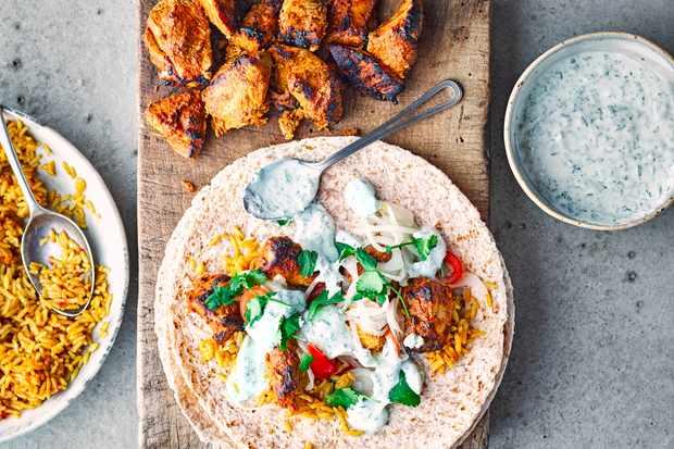 Indian Burrito Recipe