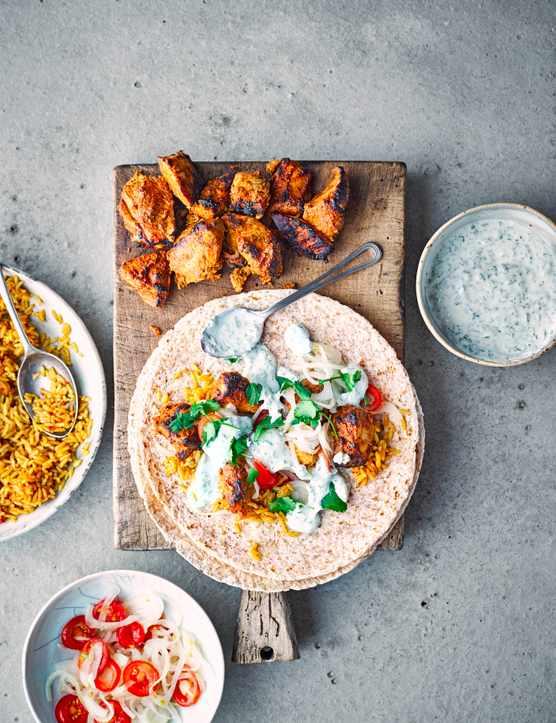Chicken Burrito Recipe