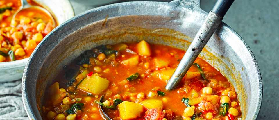 Moroccan Vegetable Soup Recipe Olivemagazine