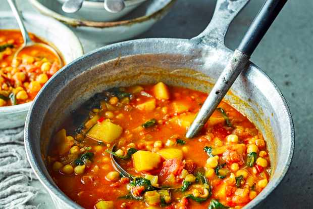 Moroccan Vegetable Soup Recipe