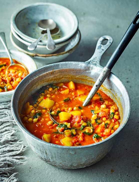 Moroccan Vegetable Soup Recipe