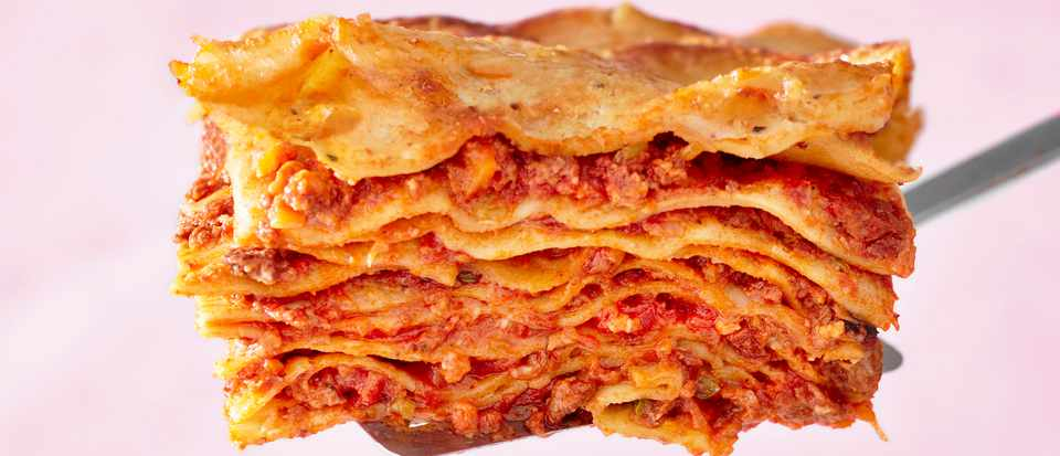 Beef Lasagne Recipe with Pork