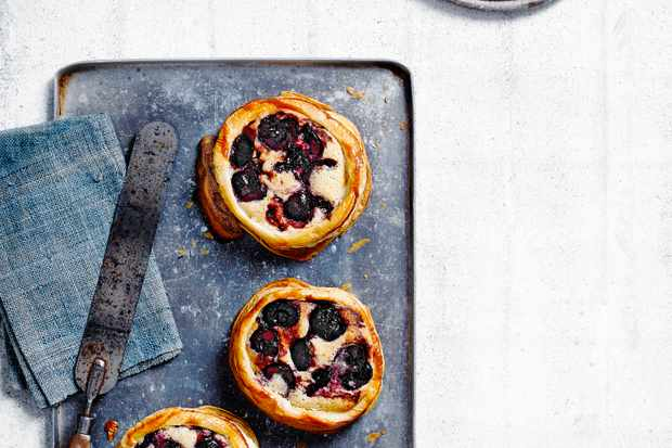 Almond Frangipane Recipe with Cherries