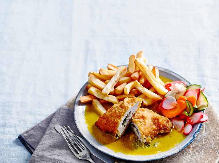 Chicken Kiev Recipe With Katsu Curry Sauce Olivemagazine