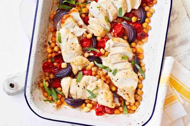 Quick Roast Chicken Tray Bake Recipe