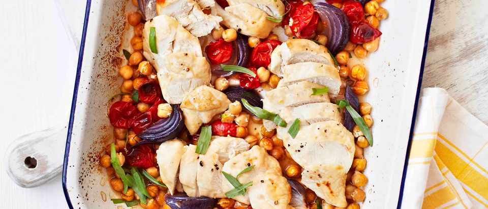 Quick Roast Chicken Tray Bake Recipe