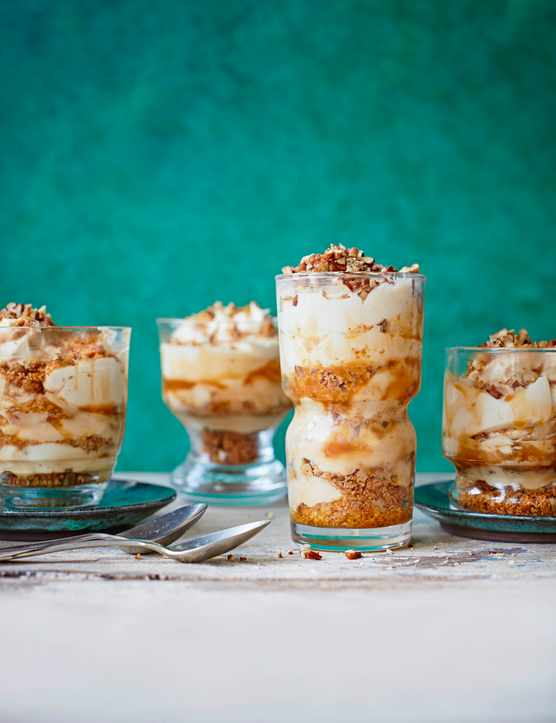 Caramel Pecan Cheesecake Pots Recipe