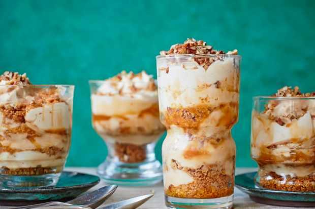 Caramel Pecan Cheesecake Pots Recipe