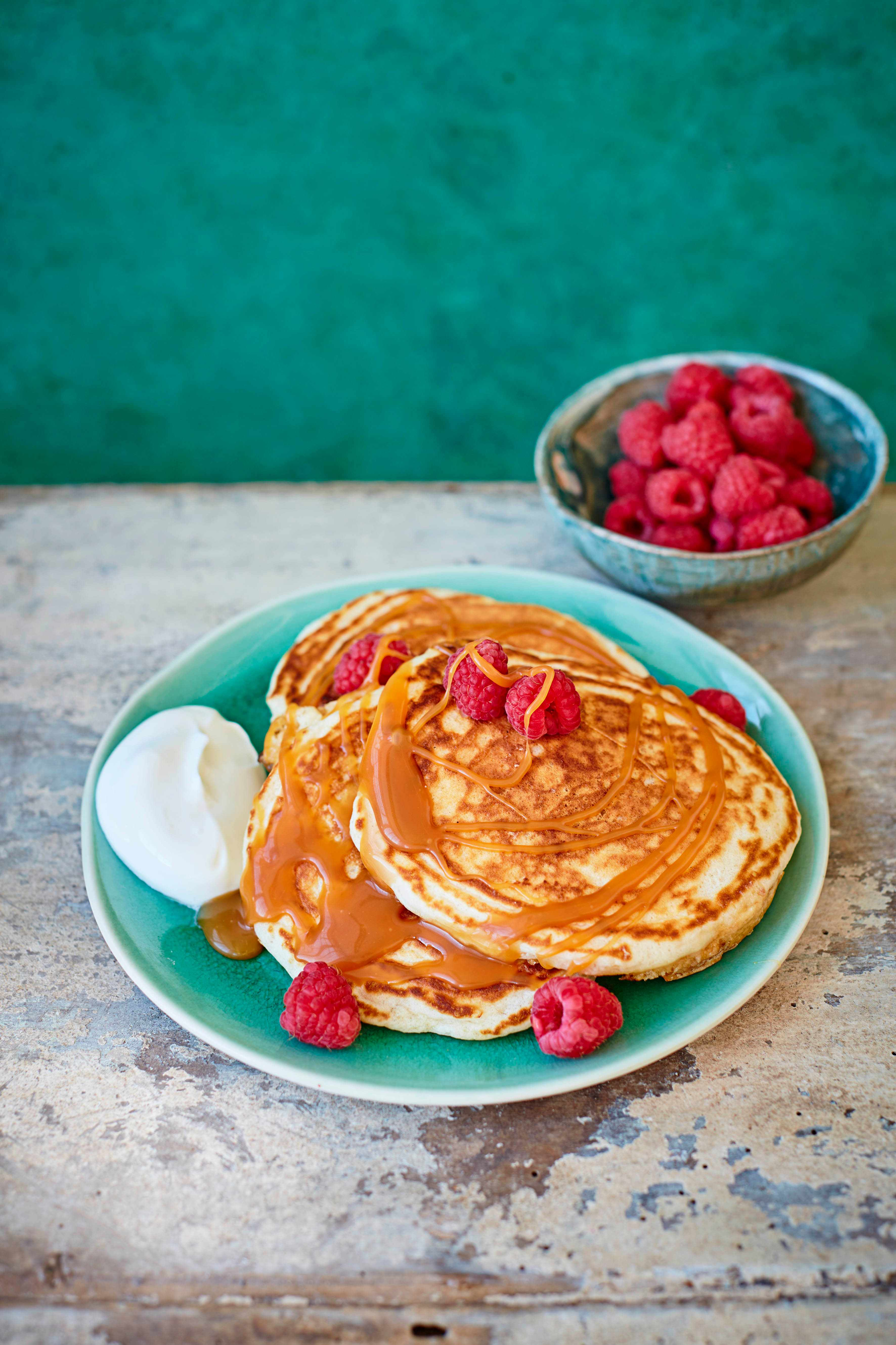 Salted Caramel Pancakes Recipe
