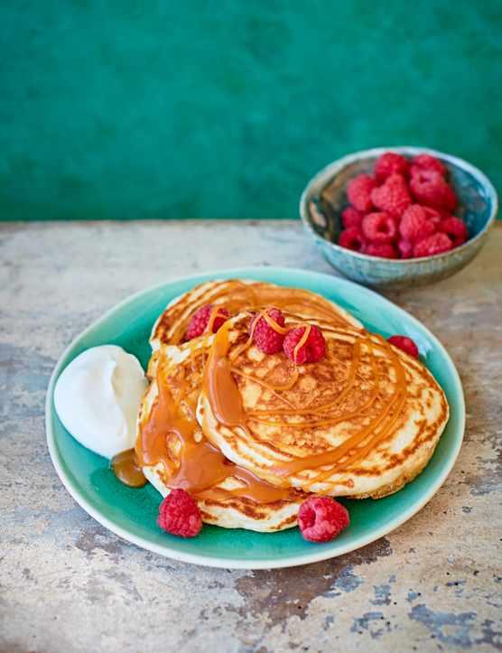 Salted Caramel Pancakes Recipe