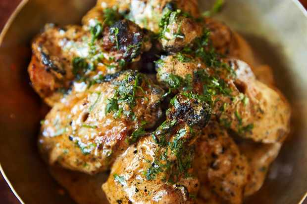 Buttered Chicken Wings Recipe