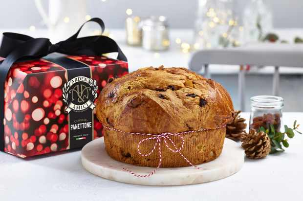 Arden and Amici Christmas panettone