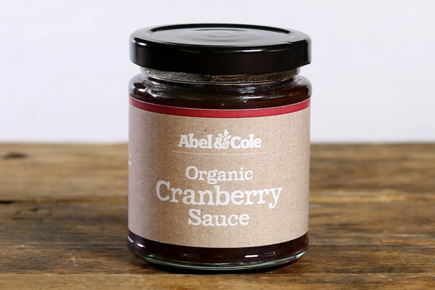 Abel and Cole cranberry sauce