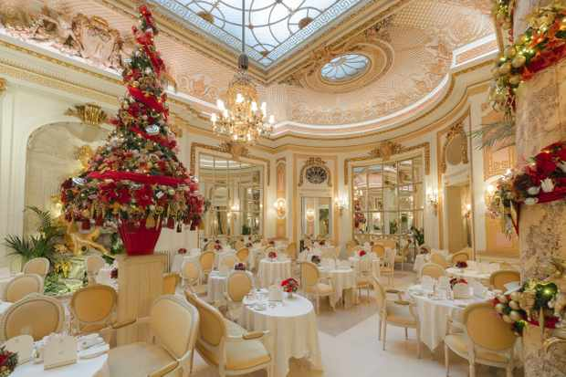 Christmas at The Ritz, Palm Court