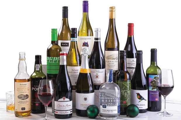 Christmas Survival Kit from The Wine Society
