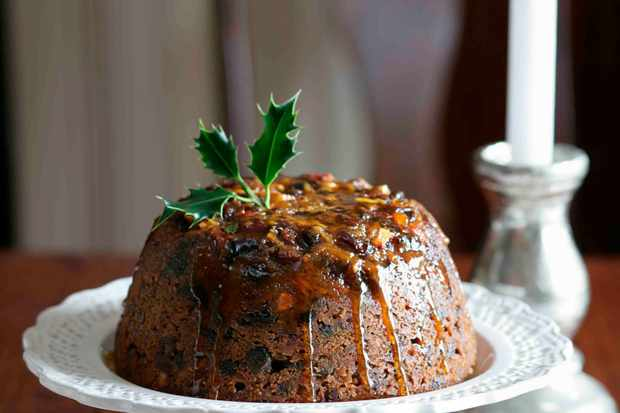 Steamed Ginger Pudding Recipe with Cranberries