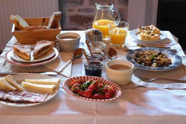Breakfast at Amanita