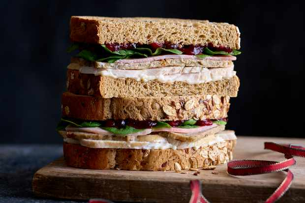 EAT Festive Full Works Bloomer Christmas sandwich