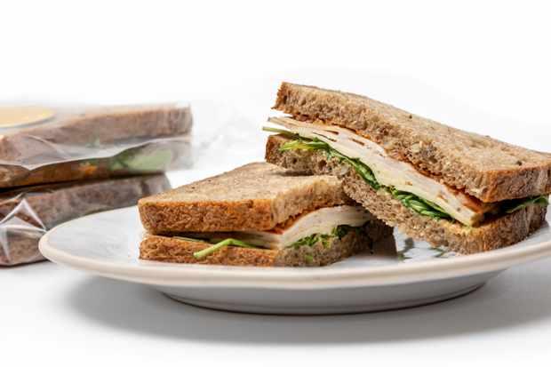 GAIL's Bakery Christmas Sandwich £5 open