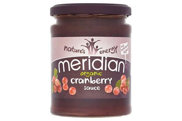 Meridian cranberry sauce